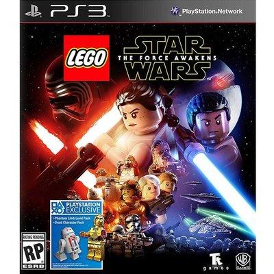 (現貨全新) PS3 樂高 星際大戰:原力覺醒 英文美版 (附贈道具密碼表) LEGO Star Wars