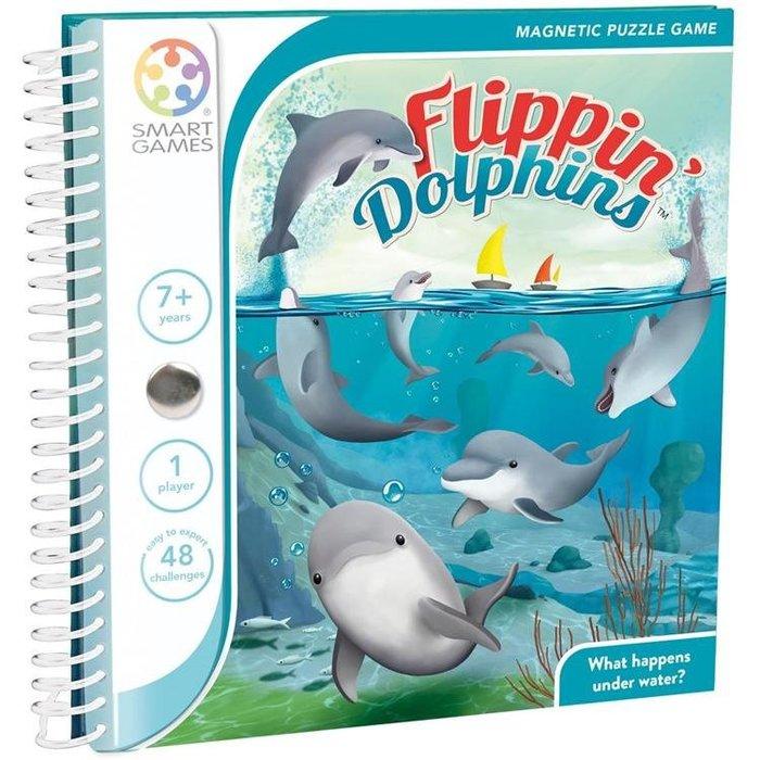 孩子王 生活館【Smart Games】魔磁隨身遊戲-海豚家族