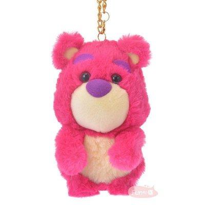 日本迪士尼 玩具總動員 熊抱哥 絨毛玩偶 吊飾。現貨【Fun心購】