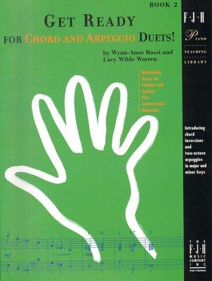 【599免運費】Get Ready for Chord and Arpeggio Duets!, 2【FJH1363】