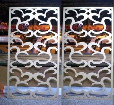 *Butterfly*木板切割/壓克力切割木板,密集板切割*鏤空屏風*窗花*櫥窗門片*專幫設計公司及同行代工B03