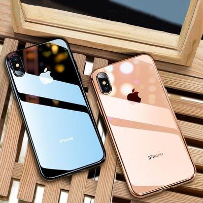 透明玻璃 iphone 11 pro max xs max xr i8 plus i7 plus手機殼保護殼套【K50】