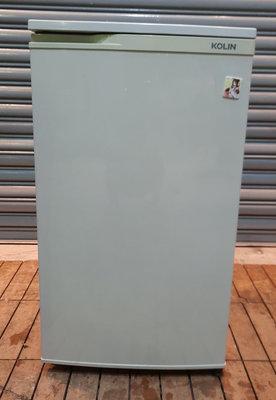 樂居二手家具館 便宜2手傢俱賣場 RE1218BJJH 歌林90公升單門小冰箱 冷凍櫃 冷凍冷藏冰箱 營業用冰箱新竹台北