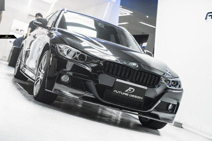 【政銓企業有限公司】BMW F30 F31 MTECH 專用 P款 三件式 抽真空 卡夢 前下巴 320 328 335