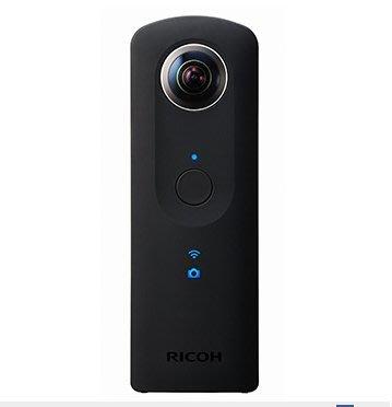 大元˙台南*【公司貨 現金優惠】RICOH THETA S 4K  全景相機 360度 環景 攝影 夜拍