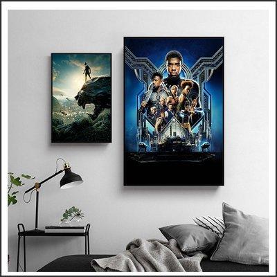 日本製畫布 電影海報 黑豹 Black Panther 掛畫 無框畫 @Movie PoP 賣場多款海報~