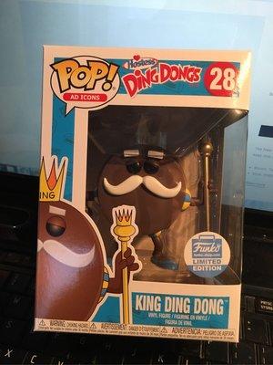 獨賣 Funko Pop! Ad Icons Hostess King Ding Dong 餅乾國王 極限量