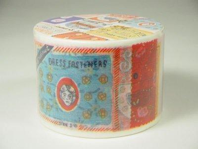 《散步生活雜貨-和紙膠帶》日本進口 Aimez le style 標籤織物 38mm 單捲 紙膠帶