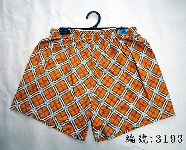 短褲台灣製紅螞蟻平口褲100%絲光棉編號3193、3201