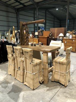 大高雄冠均二手貨家具---【全新正樟木】 樟木厚板   中島櫃    吧檯     餐桌    休閒桌    泡茶桌