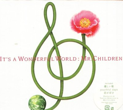 K - Mr. Children - It's a wonderful world - 日版 - NEW