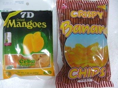 超級脆香蕉脆片3包+2包猴子香蕉片(全家取物付款)