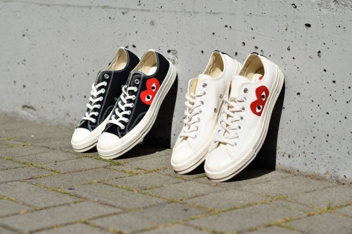 ☆AirRoom☆【現貨】CONVERSE COMME DES GARCONS PLAY CDG 1970 川久保玲 低