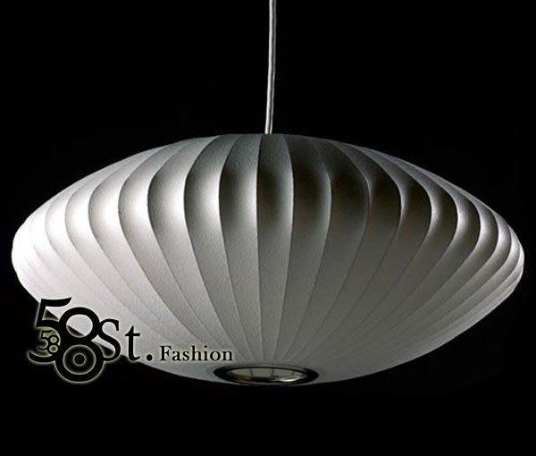 【58街】設計師款式「Extra Large Saucer 茶碟盤 蠶絲吊燈 」複刻版。GH-250
