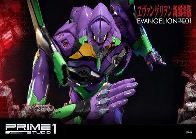 八田元氣:日版 Prime 1 Studio海洋模型UDMEVA-01新世纪福音戰士EVA 新劇場版 1号機  初號機