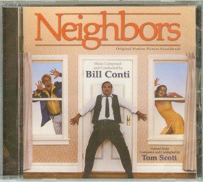 """[原聲帶]-""""Neighbors""""- Bill Conti(31),全新美版"""