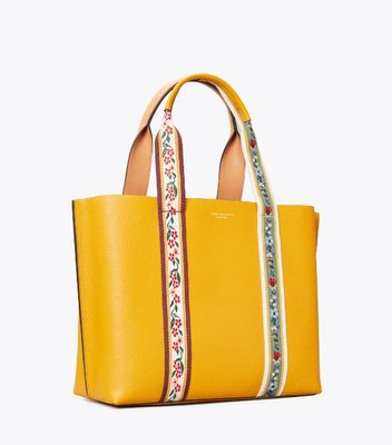 Tory Burch Perry Webbing Triple-Compartment Tote Bag 1/12止