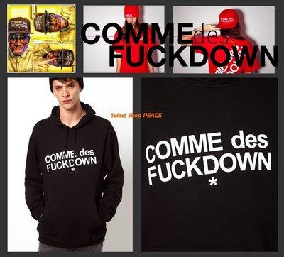 COMME des Fuckdown 美國製【現貨】L號 Russ Produce 連帽 長T恤
