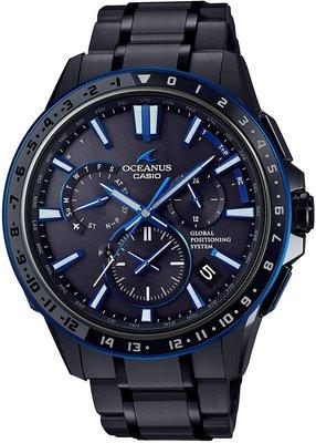 光華.瘋代購 [預購] CASIO OCEANUS OCW-G1200B-1A JF 海神 GPS太陽能電波表