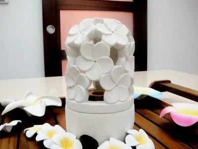 Y【永晴峇里島】巴里島風石頭雕花燭台(中),增添異國風味,居家,民宿,飯店都好用-燭台16