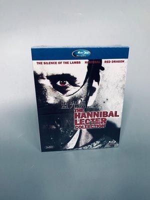 漢尼拔 /沉默的殺機/沉默的羔羊1-3部 藍光BD高清電影套裝碟片