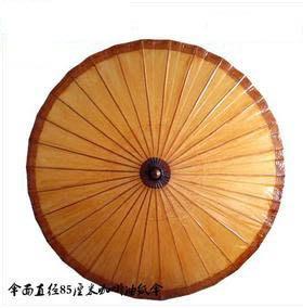 【裝飾傘舞蹈傘道具-直徑85CM-1個/組】裝飾傘舞蹈傘道具傘古典復古防雨防嗮油紙傘-30029