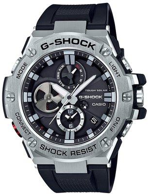 光華.瘋代購 [預購] CASIO G-SHOCK G-STEEL GST-B100-1A JF  保固一年 藍牙錶