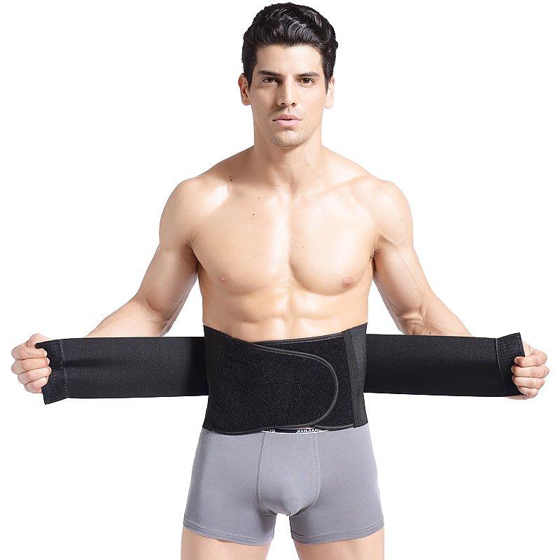 福福百貨~男士專享收腹帶緊身束腰塑身衣束腹運動健身保暖訓練專業護腰帶~