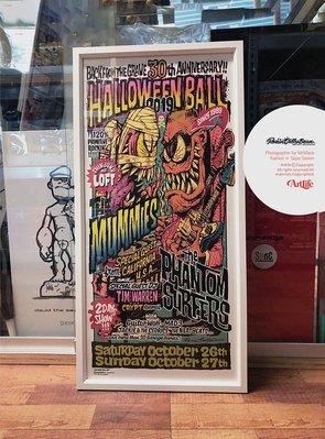 Artlife @ Rockin Jelly Bean HALLOWEEN BALL 2019 怪物 木乃伊 絕版海報