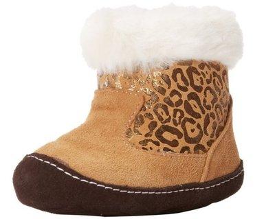 足科醫師推薦Stride Rite Boot 豹紋雪靴(US4)售價880含運
