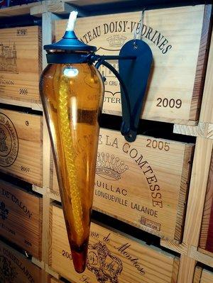 歐式古典壁掛式玻璃油燈:歐式古典 油燈 玻璃 壁掛式 居家 家飾 照明 燈具 設計 禮品 雜貨