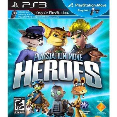 【二手遊戲】PS3 群雄大冒險 PLAYSTATION MOVE HEROES 中文版【台中恐龍電玩】