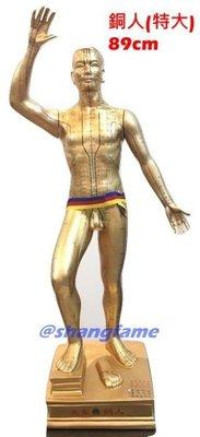 【上發】中醫 穴位 銅人 人體模型 89cm 18銅人 經絡 針灸 體穴位 非市面上劣質品 玻璃纖維 非塑膠 台灣製