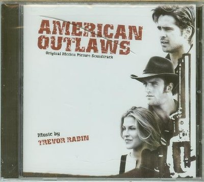 """狂風沙(American Outlaws)""- Trevor Rabin(01),全新美版"