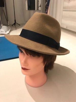CA4LA 男女通用毛料紳士帽 全新 帽沿可隨意彎折 SLY Moussy agnis b