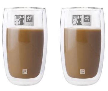 德國雙人Zwilling 2入 350ml*2 雙層 隔熱 玻璃杯 咖啡杯 耶誕禮物 尾牙贈品