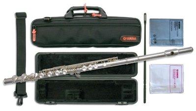 【現代樂器】現貨免運!Yamaha Flute YFL-212 長笛 加e鍵 ( 211後繼機種 )YFL212