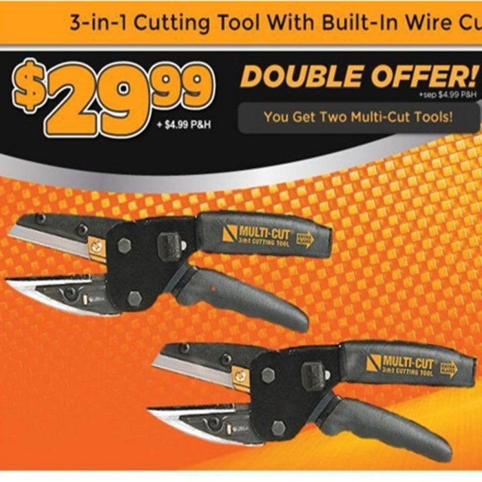 樹枝剪刀 三合一剪刀 TV多功能工具鉗工具剪刀 裁剪工具