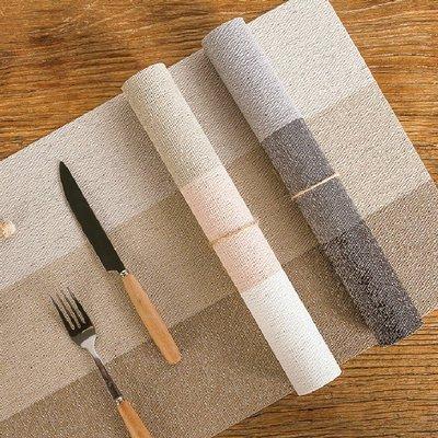 日式三色拼接餐墊 家用 客廳 廚房 防水 隔熱墊 防燙墊 餐墊 餐桌墊【RS1120】