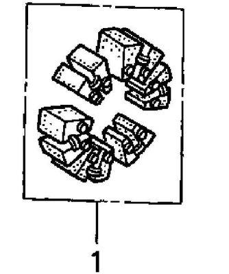 RCP HONDA 原廠 後輪 減震 橡皮 RVT1000R RVT 1000 R 2000~2006