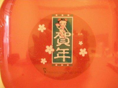 全新限量版中國風旗袍造型喜氣櫻花紅賀年版 BETTY BOOP 貝蒂甜心置物收納盒