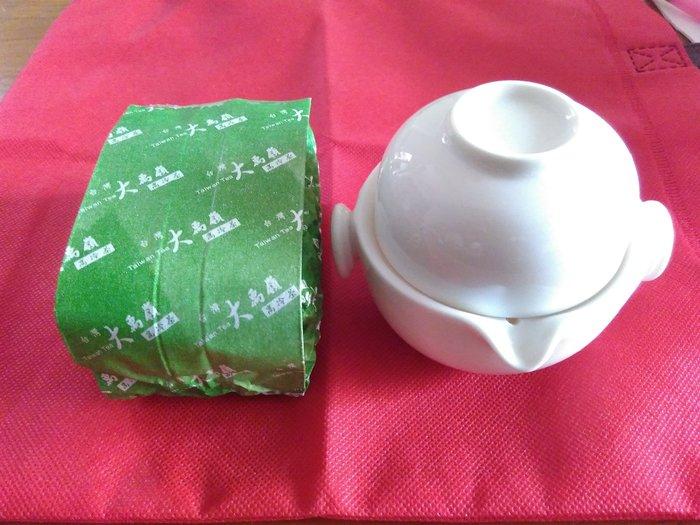 快意杯及台灣大禹嶺高山茶(四兩)(春勇茶廠)茶葉組合--免運費