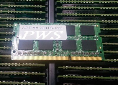 ☆【筆電用 原廠 DDR3-1333 ...