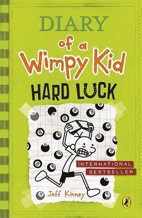 *小貝比的家*DIARY OF A WIMPY KID #8:HARD LUCK (遜咖日記 8: 神奇8號球)7-12