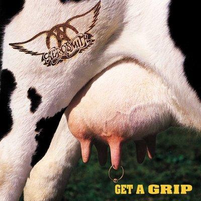 正版CD《史密斯飛船》抓住竅門 /AEROSMITH GET A GRIP  全新未拆