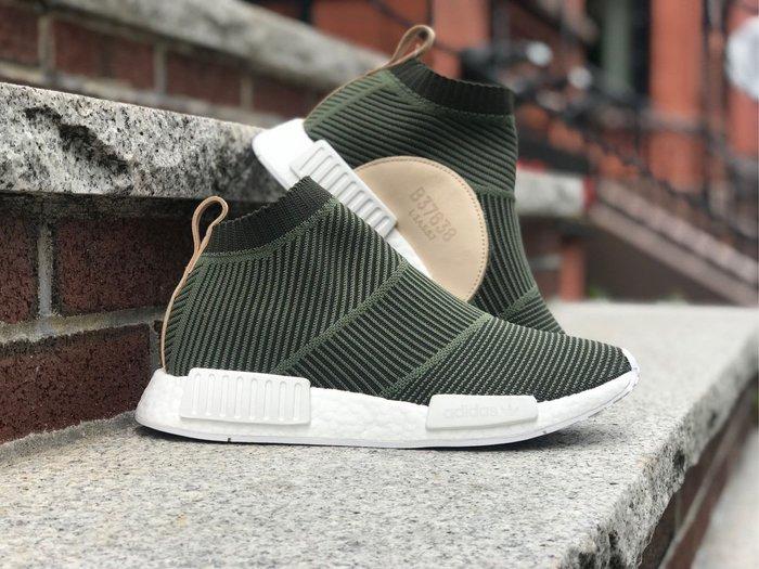 【Cheers】 adidas original NMD CS2 PK B37638 軍綠 綠色 透氣 編織 慢跑鞋