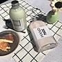 鋁蓋玻璃瓶350ml 磨砂/透明2款☆ VITO zakka ☆ 果汁瓶咖啡瓶輕斷食蔬果汁極簡玻璃瓶