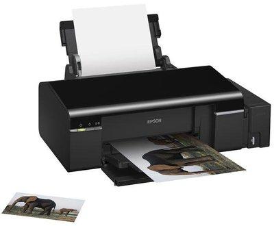 二手正常 EPSON L800 原廠連續供墨商用CD印表機 非L805 T50