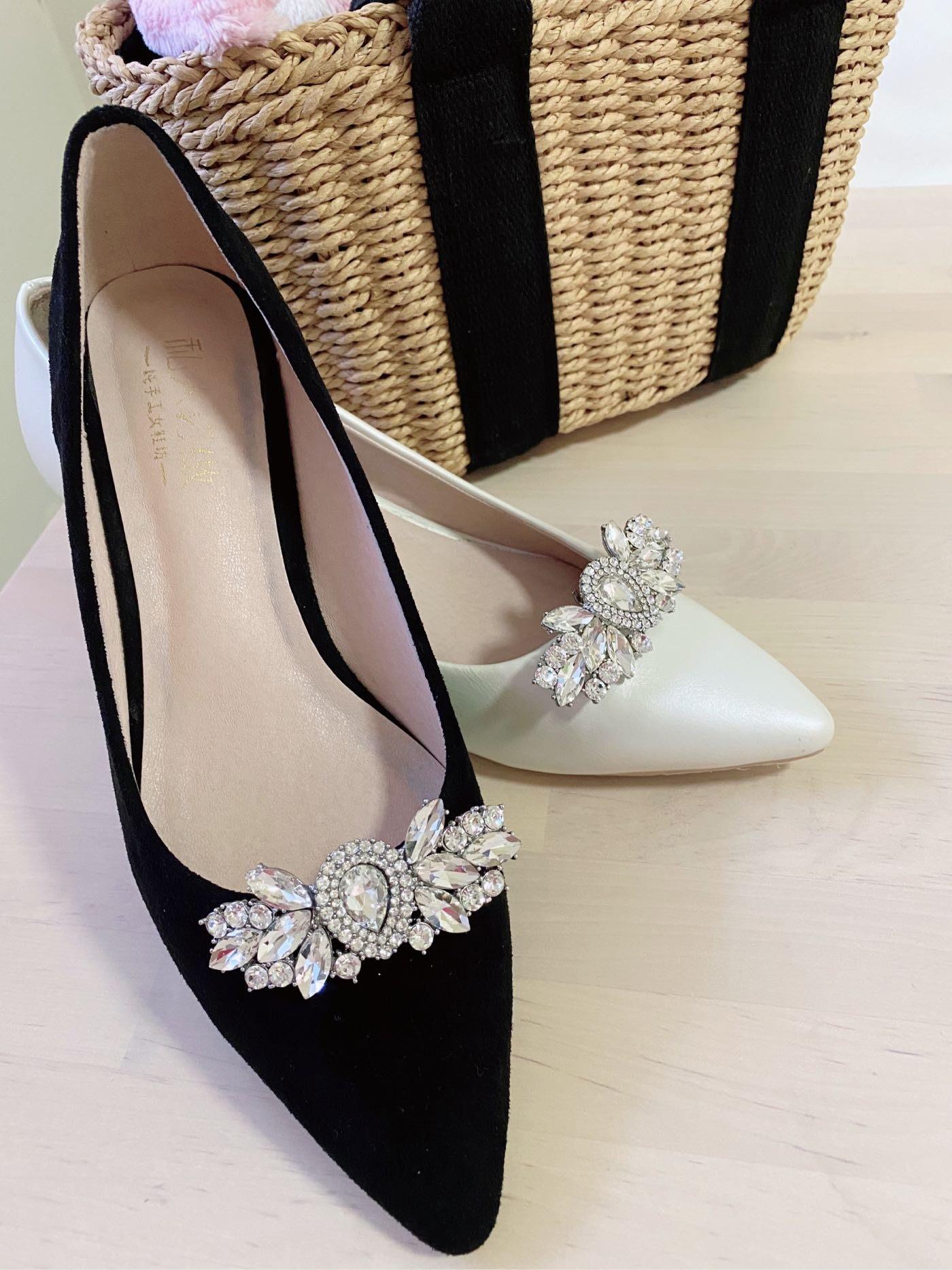 DAFA 大牌感可拆卸式鞋扣/鞋飾/新娘鞋/晚宴鞋/晚宴鞋 婚禮 婚禮小物 現貨~