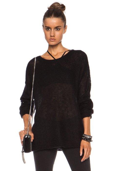 特價3天BLK DNM Kid Mohair-Blend Sweater 28(SIZE L)